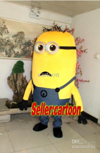 This despicable me looks caught off guard like a paparazzi shot.