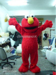 "Elmo say, ""Welcome to my office!"""