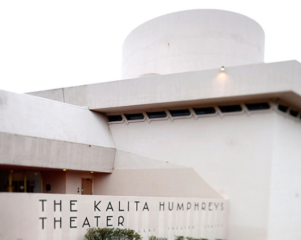 Kalita Humphreys Theater, Dallas, was designed by Frank Lloyd Wright in 1959. Courtesy The Dallas Morning News.