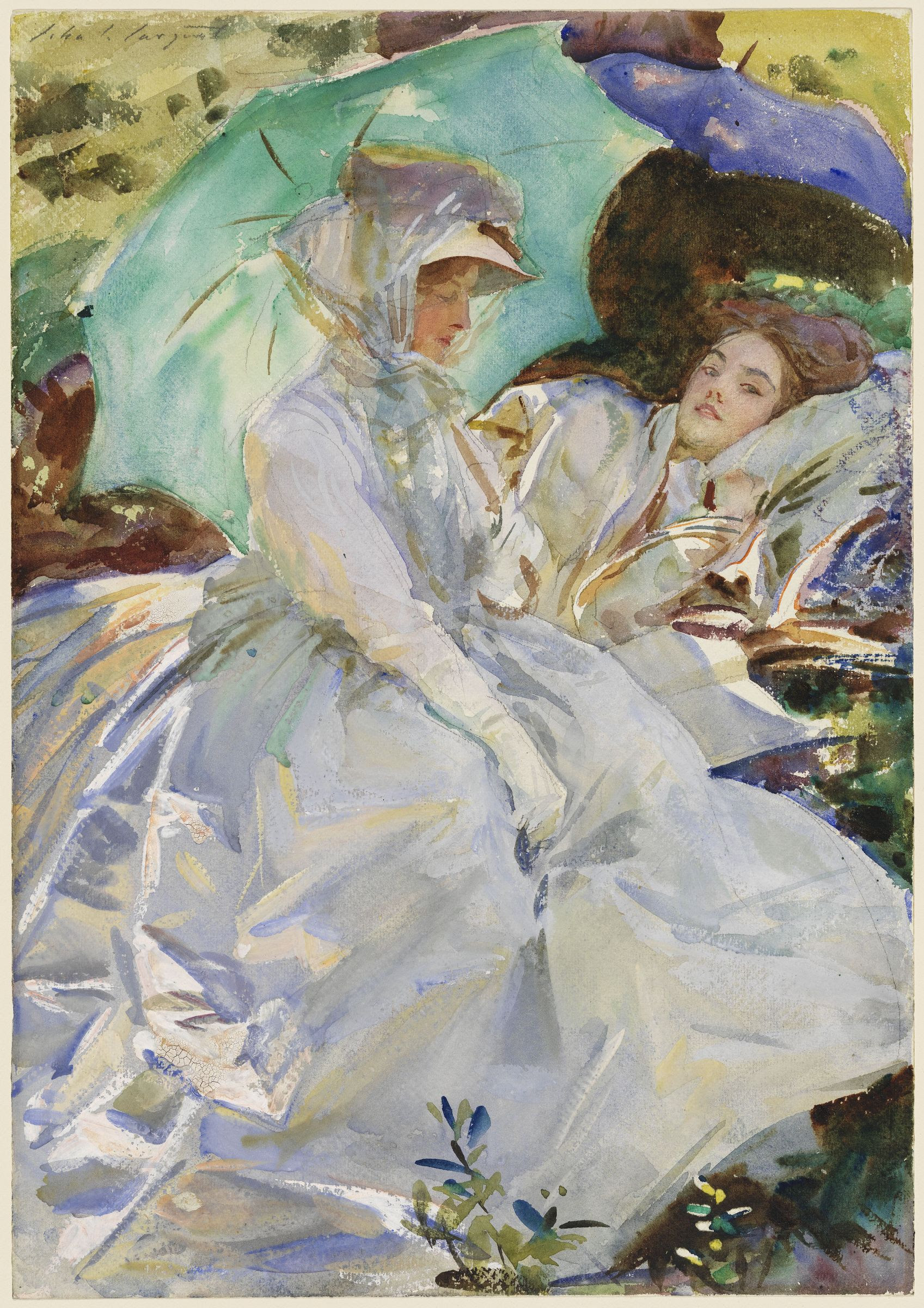 Watercolor art society houston tx - John Singer Sargent The Watercolors