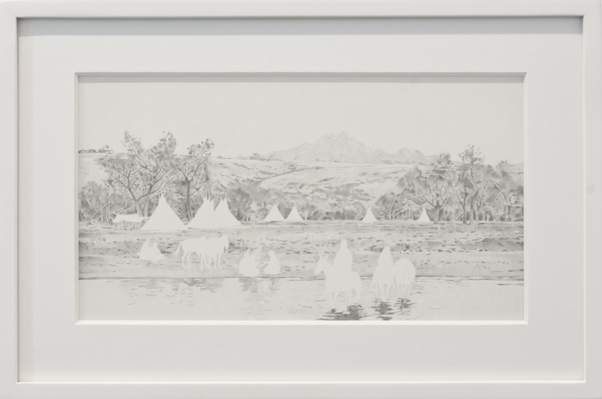 Native, The Crossing, 2013.  Photo courtesy of the artist and Lora Reynolds Gallery.