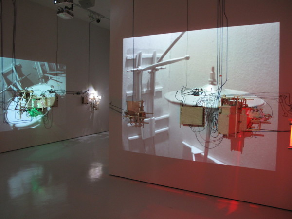 Trailer, installation view, crescendo.