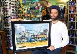 Joe Magnano, Prada Marfa vandal, TOMS Marfa creator.