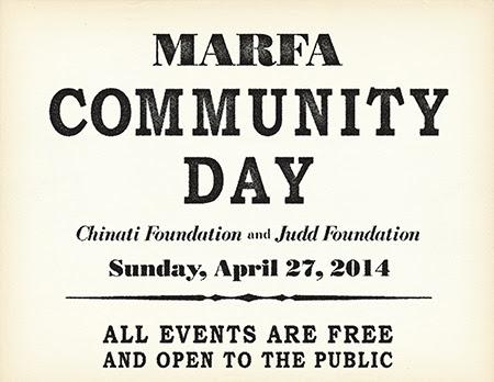 marfa community day