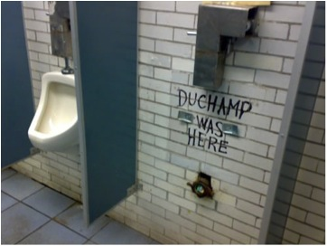 duchamp was here