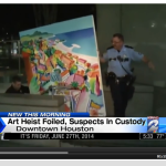 Overnight painting heist foiled in Houston UPDATE!