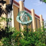 "New astroloabe sculpture says ""science!"" at Texas Tech"