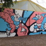 Dallas Contemporary commissions Sieben mural in Trinity Groves