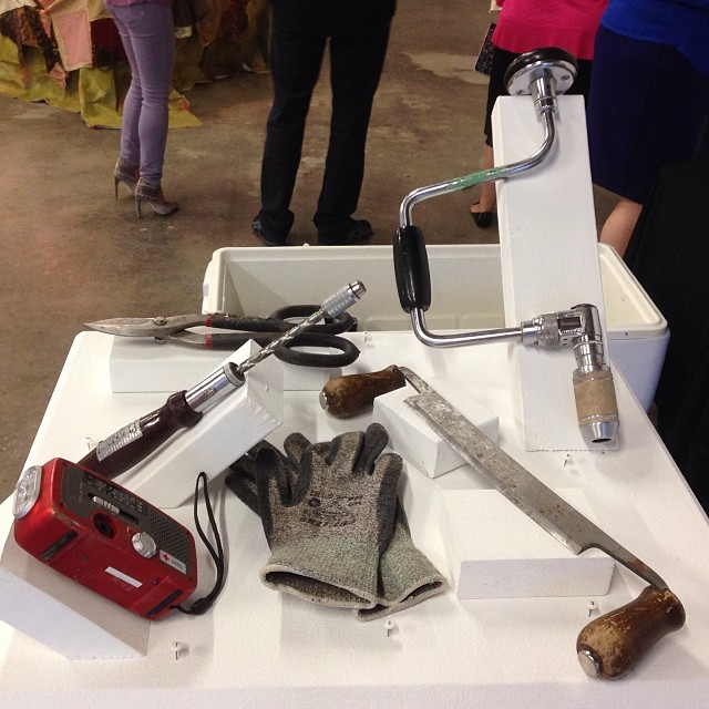 PLAND's tools for conquering the wilderness @  Diversewors, Houston