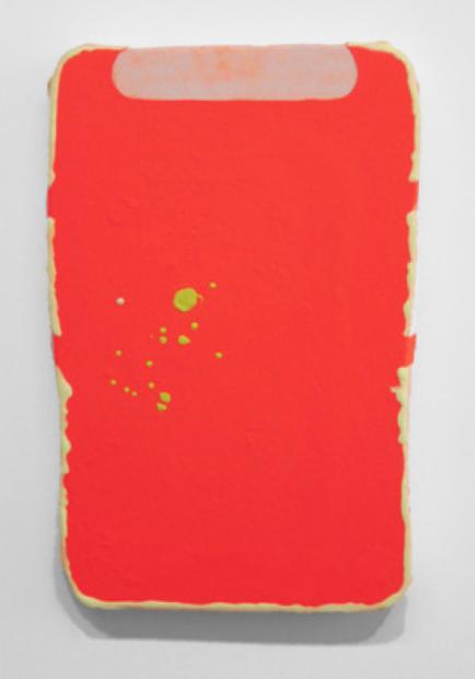 Bret Slater,Bad Moon rising, 2014. Acrylic on canvas, 59.6 x 38.7 x 2 cm