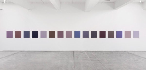 Sherrie Levine_Monochromes after Mondrian 1-16