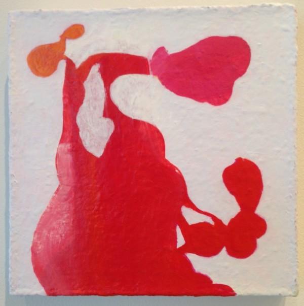 "Laura Feld, <em>Interiors No. Two</em>, 2014 Acrylic on canvas, 12"" x 12"""