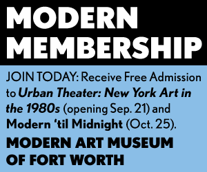 The Modern Art Museum Fort Worth Membership