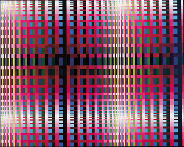 Susie Rosmarin, <em>Variation Study (#295)</em>, 2003. Acrylic on Canvas, 24 x 30""