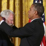 President Awards James Turrell the National Medal of Arts
