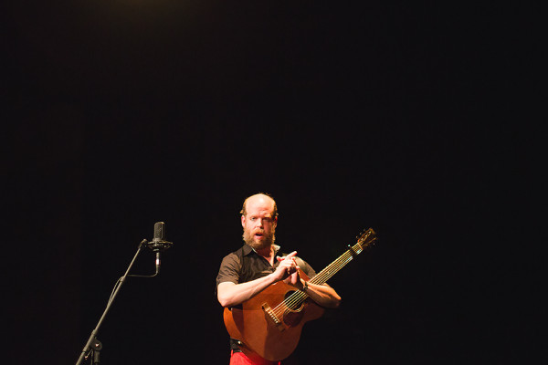 "Bonnie ""Prince"" Billy, Crowley Theater, Marfa, July 12, 2014.  Photo by Lesley Brown, courtesy of Ballroom Marfa."