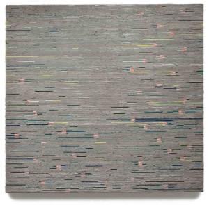 Last year's winner, Winston Lee Mascarenhas. Rite of Spring, 2013. Beeswax, resin, pigment on panel.