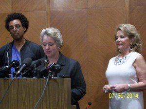 Rick Lowe, Mayor Parker, Philamena Baird