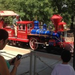 Sculpture Train: Hermann Park