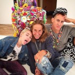 Yet Another Celeb-Turned-Artist: Miley Cyrus
