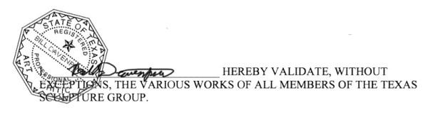 art critic stamp