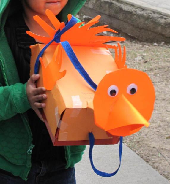 shoebox orange