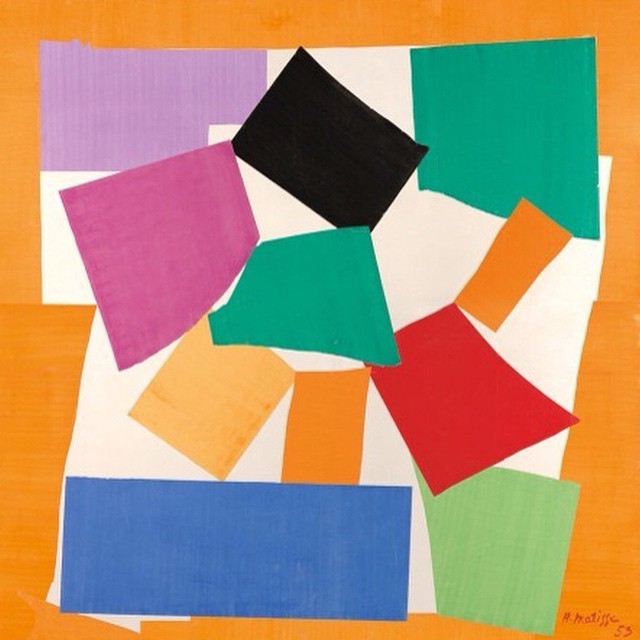 Matisse's The Snail could be the ultimate Instagram painting. Will all paintings someday be square?