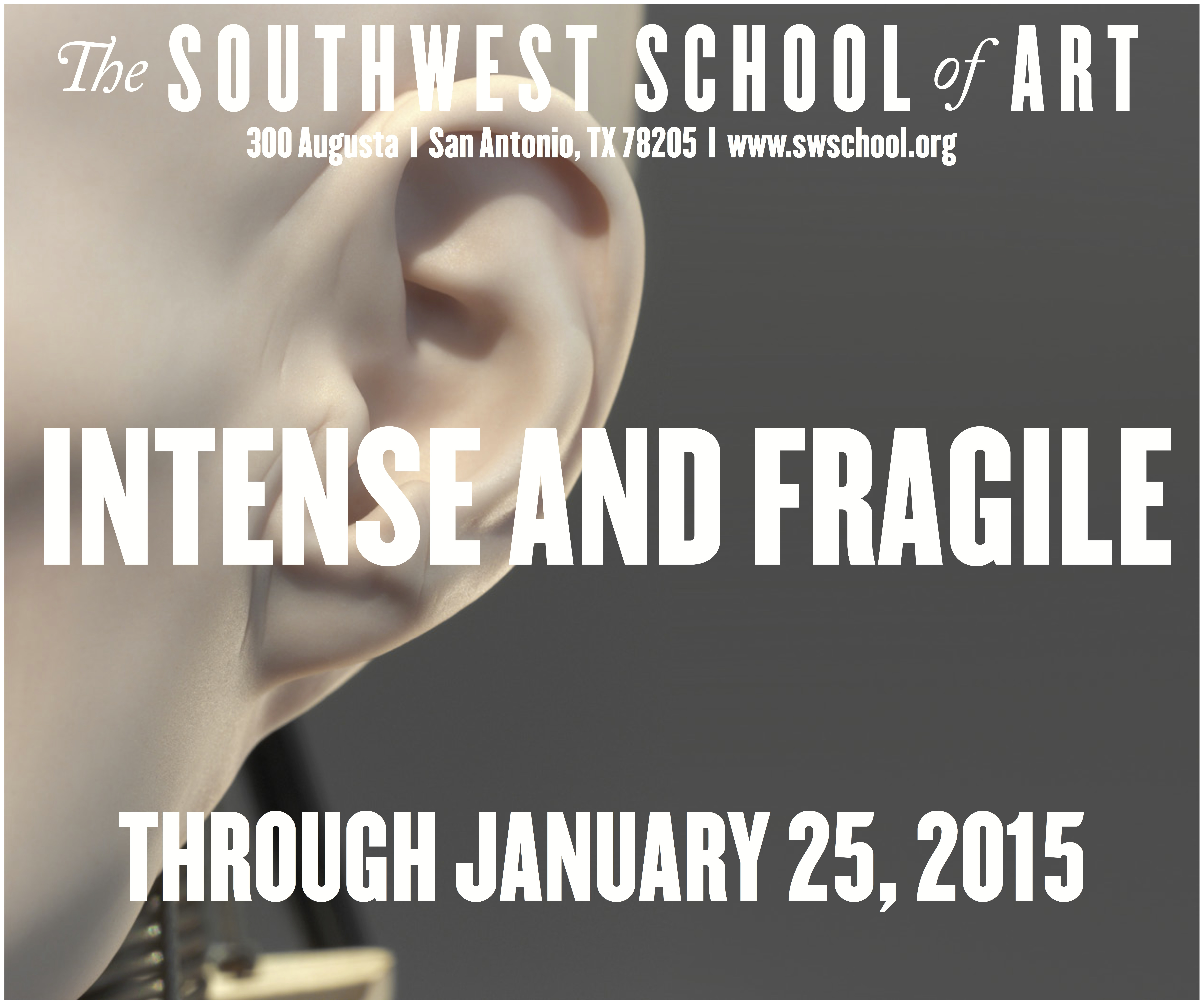 Southwest School of Art: Intense and Fragile