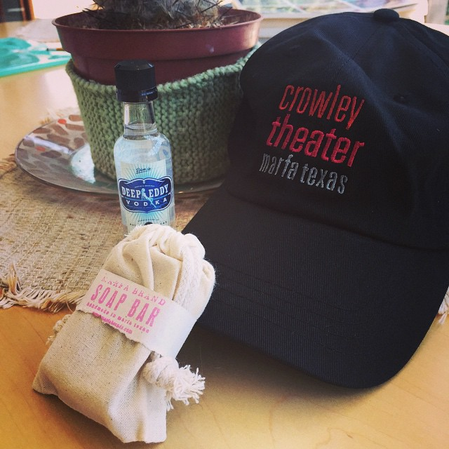 We have the best sponsors ever! @CrowleyTheaterMarfa @deepellumvodka @marfabrands
