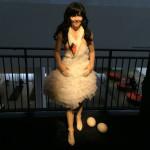 """Marjan Pejoski's Swan Dress in """"Björk"""" at MoMA Photo: Ben Davis"""