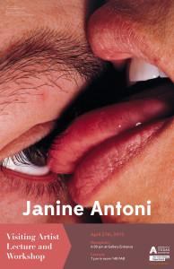 Janine Antoni UTA 4-27-2015