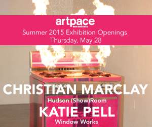 Artpace: Christian Marclay and Katie Pell