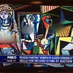 Fox News Censors the Boobs in Picasso's Cubist Painting