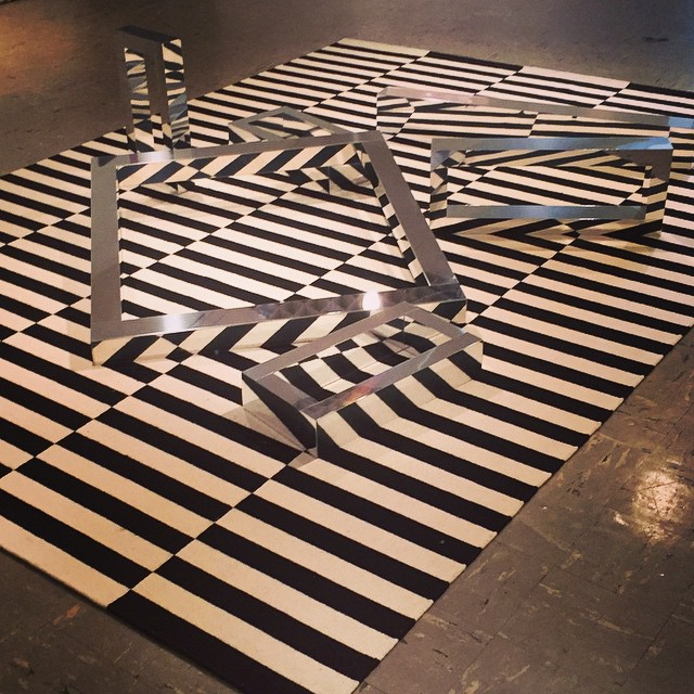 Tom Orr 3D op art @box13artspace