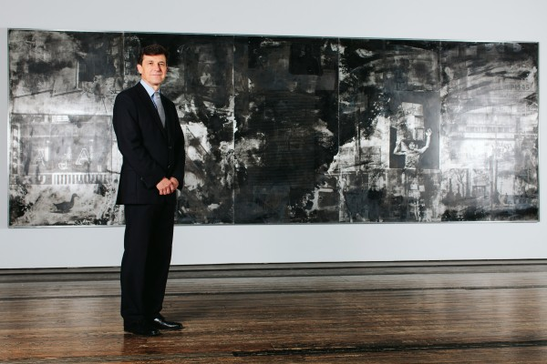 Josef Helfenstein im Foyer der Menil Collection in Houston, Texas.