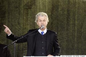 Geert Wilders Speaks To Pegida Gathering