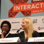 """The """"Unfiltered: Do Women Need to Get Real on Instagram"""" panel at SXSW Interactive 2015 came out of the PanelPicker process. Photo by Dawn McGee."""