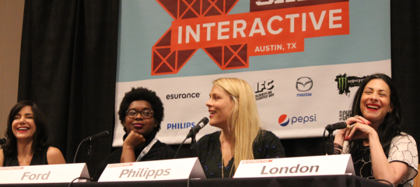 "The ""Unfiltered: Do Women Need to Get Real on Instagram"" panel at SXSW Interactive 2015 came out of the PanelPicker process. Photo by Dawn McGee."