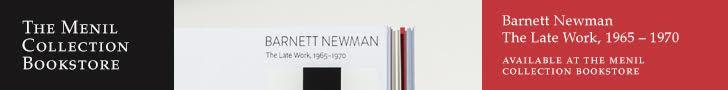 Menil Bookstore: Barnett Newman