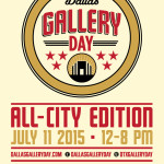 This Saturday: Go indoors for an air-conditioned Dallas Gallery Day!