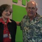 Willour with the 2014 Lifetime Achievement Award recipient, Anne Wilkes Tucker