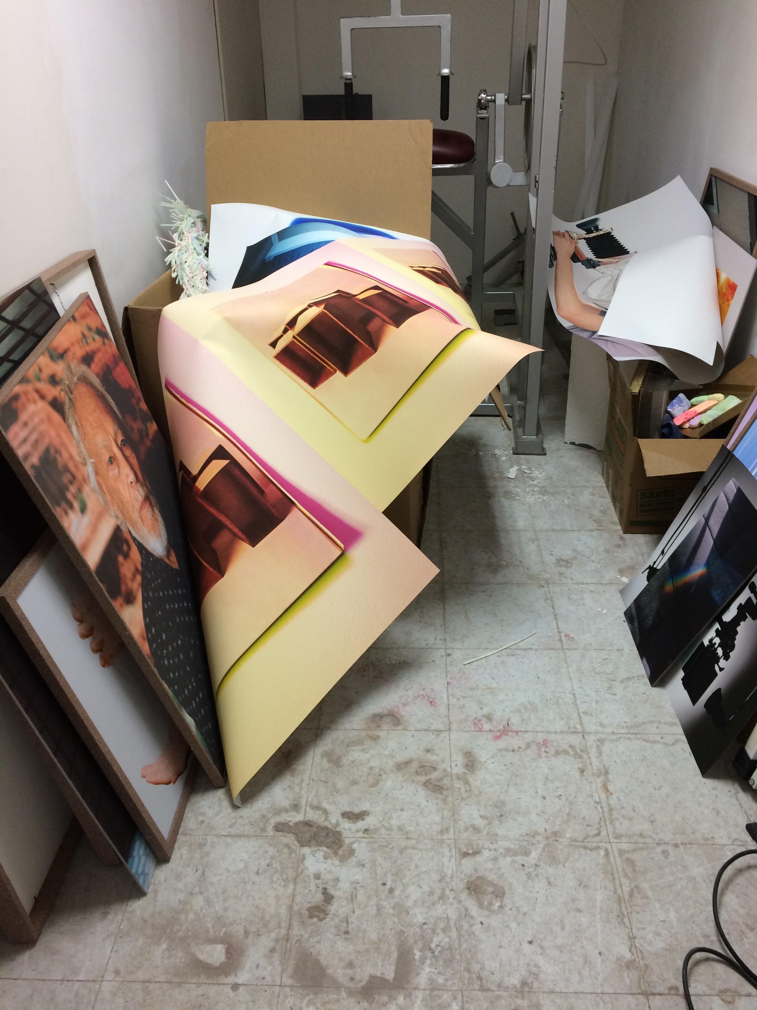 ian james damaged work