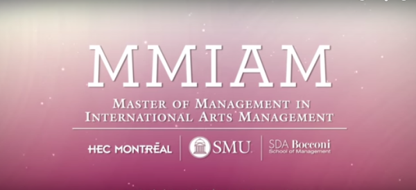 international arts management program