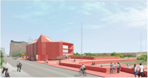 Rendering of Ruby City