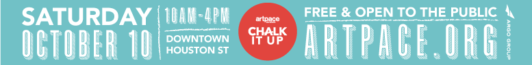Artpace Chalk it Up 2015