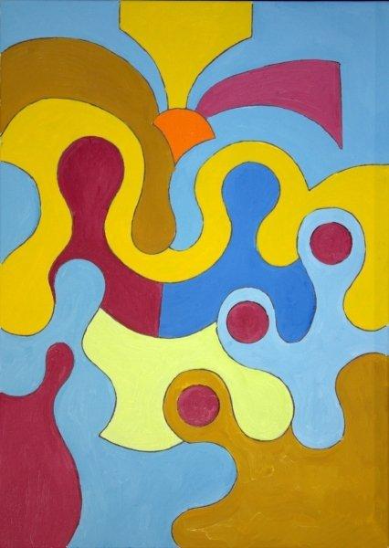 abstract nativity