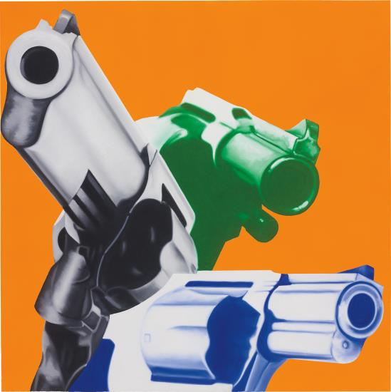 James Rosenquist Guns Play Guns