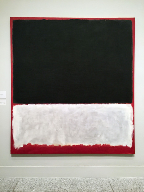 Untitled, 1956, Oil on canvas, National Gallery of Art, Washington, Gift of The Mark Rothko Foundation, Inc.