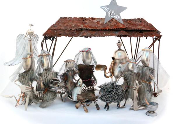spoon nativity