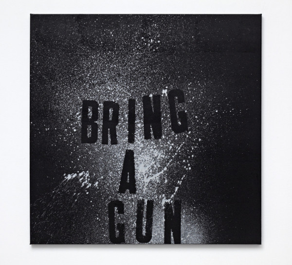 Mark Flood, Bring a Gun, 2012